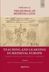 Omslag - Teaching and Learning in Medieval Europe