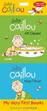 Omslag - Baby Caillou: My Very First Books