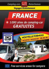 Omslag - France Motorhome Stopovers - Guide to Free Aires