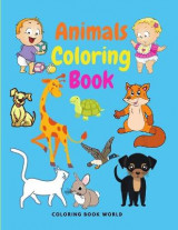Omslag - Animals Coloring Book