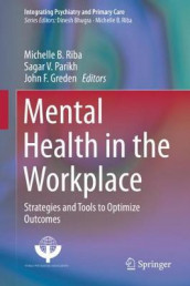 Mental Health in the Workplace (Innbundet)