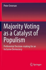 Omslag - Majority Voting as a Catalyst of Populism