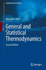 Omslag - General and Statistical Thermodynamics