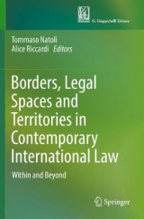 Omslag - Borders, Legal Spaces and Territories in Contemporary International Law