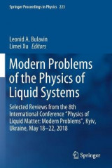 Omslag - Modern Problems of the Physics of Liquid Systems