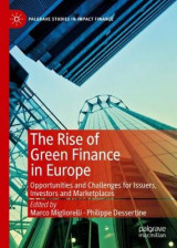 Omslag - The Rise of Green Finance in Europe