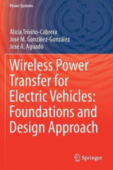 Omslag - Wireless Power Transfer for Electric Vehicles: Foundations and Design Approach