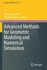 Omslag - Advanced Methods for Geometric Modeling and Numerical Simulation