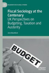Omslag - Fiscal Sociology at the Centenary
