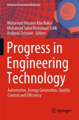 Omslag - Progress in Engineering Technology