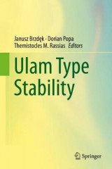 Omslag - Ulam Type Stability