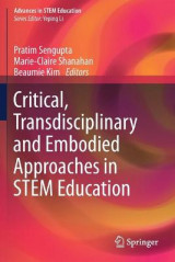 Omslag - Critical, Transdisciplinary and Embodied Approaches in STEM Education