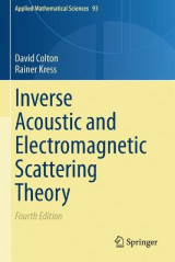 Omslag - Inverse Acoustic and Electromagnetic Scattering Theory