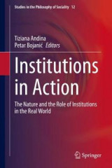Omslag - Institutions in Action