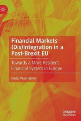 Omslag - Financial Markets (Dis)Integration in a Post-Brexit EU