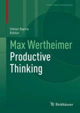 Omslag - Max Wertheimer Productive Thinking