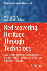 Omslag - Rediscovering Heritage Through Technology