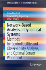 Omslag - Network-Based Analysis of Dynamical Systems