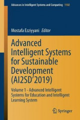 Omslag - Advanced Intelligent Systems for Sustainable Development (AI2SD'2019)