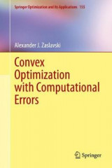 Omslag - Convex Optimization with Computational Errors