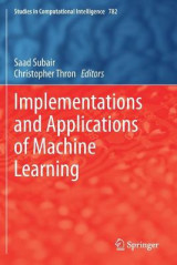 Omslag - Implementations and Applications of Machine Learning