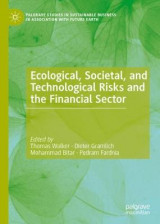 Omslag - Ecological, Societal, and Technological Risks and the Financial Sector