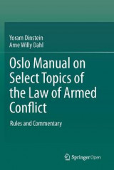 Omslag - Oslo Manual on Select Topics of the Law of Armed Conflict