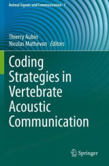 Omslag - Coding Strategies in Vertebrate Acoustic Communication