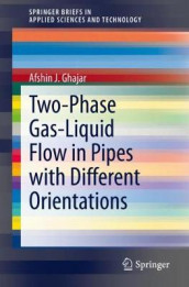 Two-Phase Gas-Liquid Flow in Pipes with Different Orientations av Afshin J. Ghajar (Heftet)