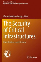 Omslag - The Security of Critical Infrastructures
