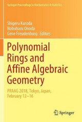 Omslag - Polynomial Rings and Affine Algebraic Geometry