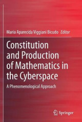 Omslag - Constitution and Production of Mathematics in the Cyberspace