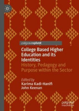 Omslag - College Based Higher Education and its Identities