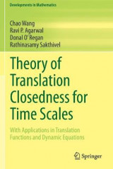 Omslag - Theory of Translation Closedness for Time Scales