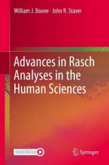 Omslag - Advances in Rasch Analyses in the Human Sciences