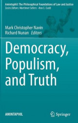 Omslag - Democracy, Populism, and Truth