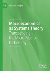 Omslag - Macroeconomics as Systems Theory