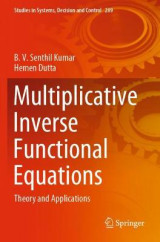 Omslag - Multiplicative Inverse Functional Equations