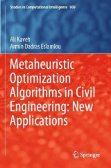 Omslag - Metaheuristic Optimization Algorithms in Civil Engineering: New Applications
