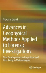 Omslag - Advances in Geophysical Methods Applied to Forensic Investigations