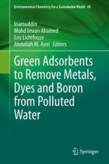 Omslag - Green Adsorbents to Remove Metals, Dyes and Boron from Polluted Water