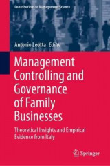 Omslag - Management Controlling and Governance of Family Businesses
