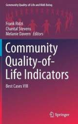 Omslag - Community Quality-of-Life Indicators