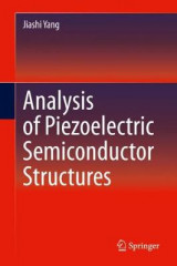 Omslag - Analysis of Piezoelectric Semiconductor Structures
