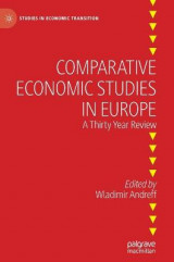 Omslag - Comparative Economic Studies in Europe