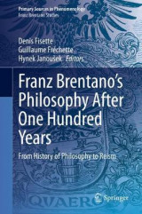 Omslag - Franz Brentano's Philosophy After One Hundred Years