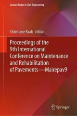 Omslag - Proceedings of the 9th International Conference on Maintenance and Rehabilitation of Pavements-Mairepav9