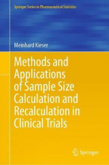 Omslag - Methods and Applications of Sample Size Calculation and Recalculation in Clinical Trials