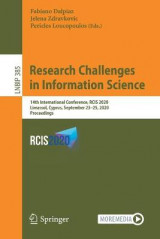 Omslag - Research Challenges in Information Science