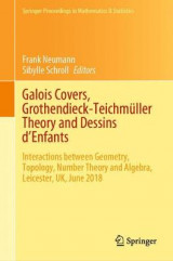 Omslag - Galois Covers, Grothendieck-Teichmuller Theory and Dessins d'Enfants